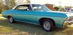 1968 chevrolet impala 4 door pillarless lhd