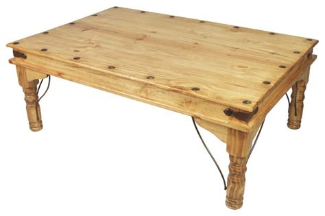 mexican pine indian coffee table traditional coffee