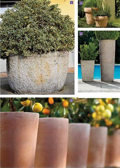 grandi vasi in terracotta vasi grandi da giardino per arredare fai da te in giardino