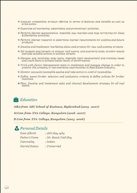 Resume Format For Freshers Beautiful 7 Fresher by Professional Beautiful Resume Sle Doc Experienced