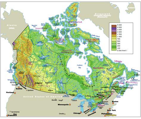 map world calgary map of canada johomaps