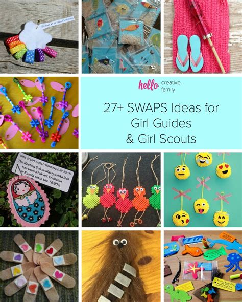 themes for girl scout c 27 swaps ideas for girl guides and girl scouts hello