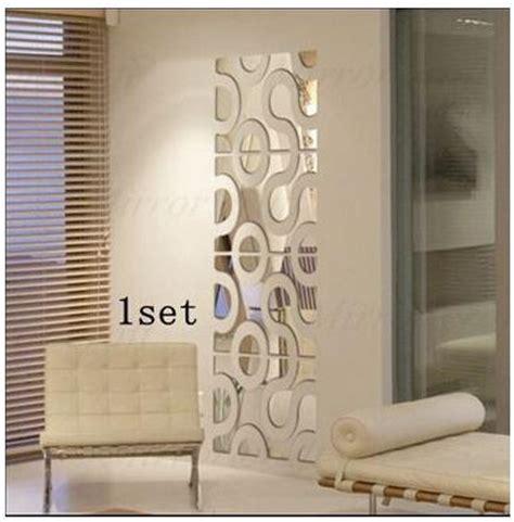 mirror wall stickers decor aliexpress buy new 3d acrylic wall sticker diy