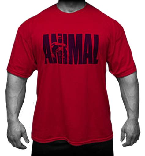 animal iconic t shirt by universal nutrition at