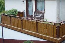 Balkongeländer Kaufen by Balkongel 228 Nder Holz Geb 228 Udebaus 228 Tze Ebay