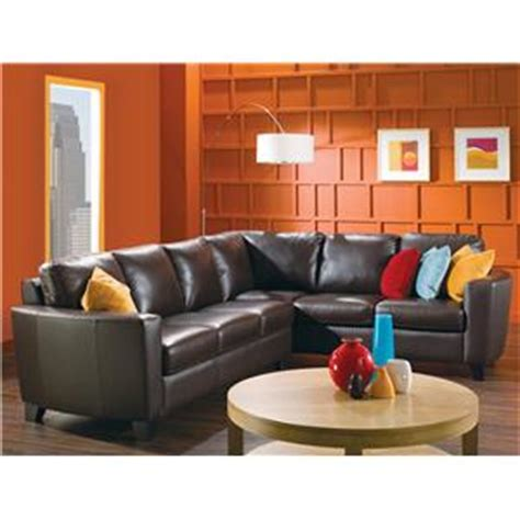 contemporary sofa with curved track arm rotmans