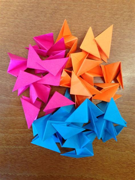 Origami Post It - origami con post it el de viking office depot