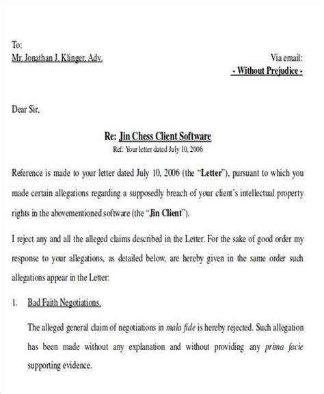 28 legal demand letter template best photos of