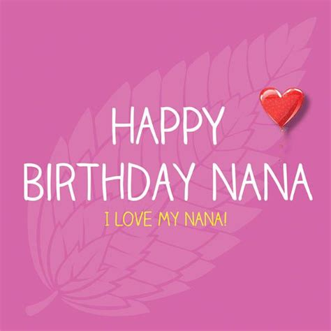 Happy Birthday Nana Cardsss Happy Birthday Nana Pureminted