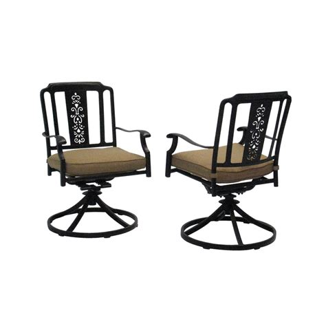 Swivel Rocker Patio Dining Sets Patio Dining Sets With Swivel Rocker Chairs Darlee Fashion Sling Cast Aluminum Patio Dining Set