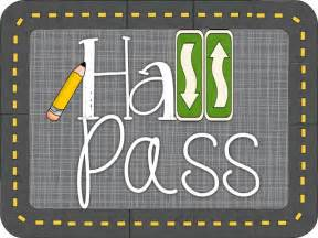 Bathroom Passes Pdf by Tunstall S Teaching Tidbits Hall Pass Linky