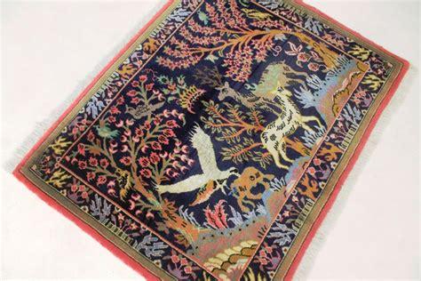 valore tappeto persiano raffinato tappeto qum persiano di valore in seta con
