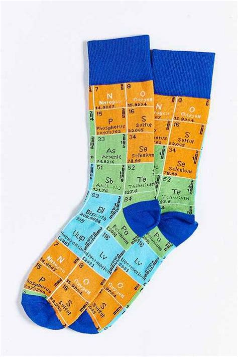 periodic table sock outfitters