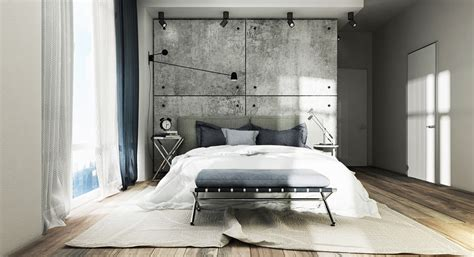 concrete bed concrete wall designs 30 striking bedrooms that use