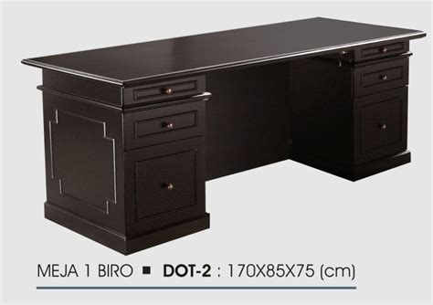 Meja Olympic 1 2 Biro meja donati melamic series distributor furniture kantor