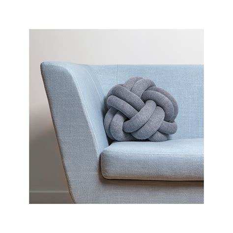 cuscini design design house stockholm cuscino knot rosa design