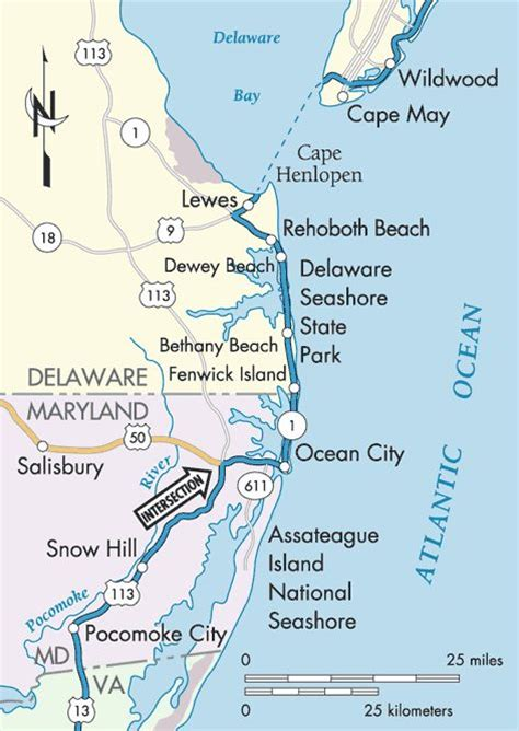 map maryland eastern shore towns 17 best images about east coast road trip on