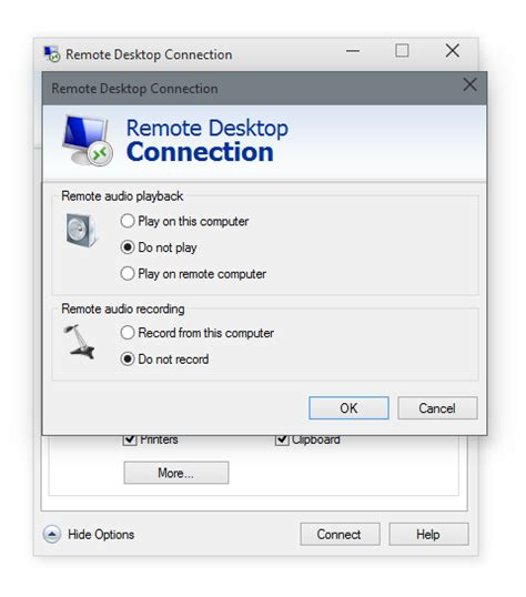 themes disabled remote desktop connection settings how to fix remote desktop connection has stopped working