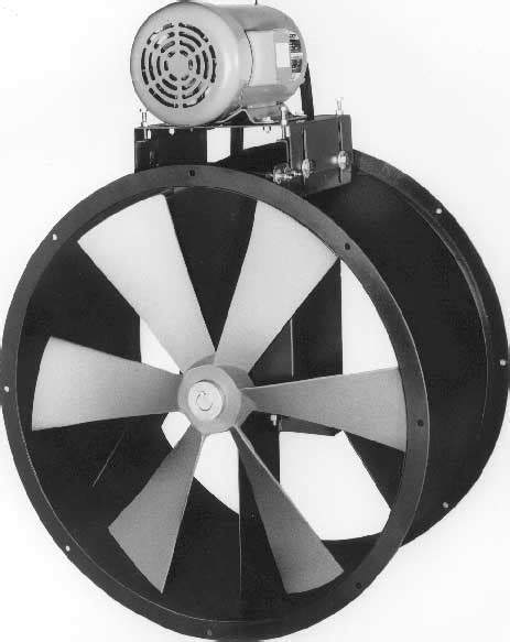tube axial exhaust fan spray booth b series tube axial duct fans belt driven carl j