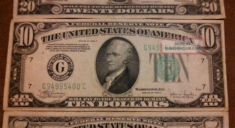 Who Makes The Paper For Us Currency - 1934a 20 1934c 10 1934d 5 dollar bills paper