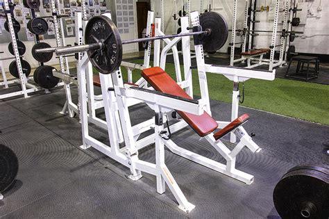 inc bench press fortis equipment inc