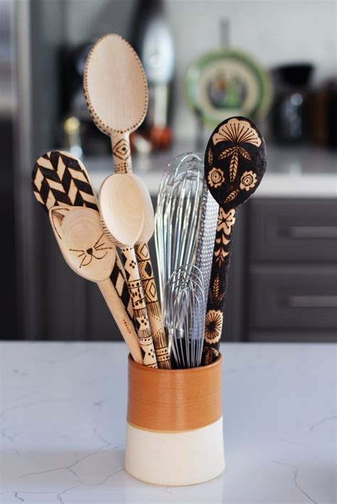 best 28 diy christmas decorations popsugar smart paper wood burned spoons 28 diy gifts for the cat lovers in
