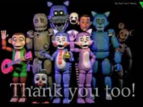 Five nights at candy 180 s teaser thank you too fnac characters