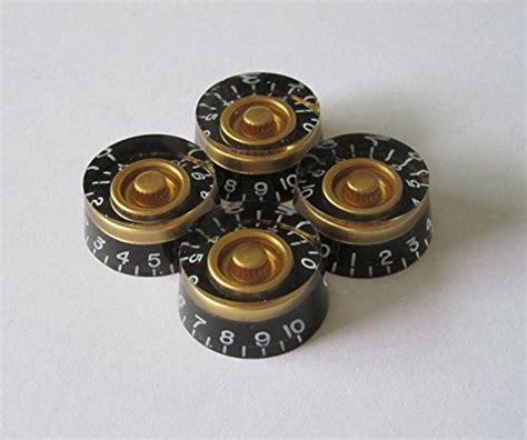 Knob Gibson Knob Epiohone Black Hitam lp guitar speed knobs knobs for les paul 4pcs black gold buy in uae