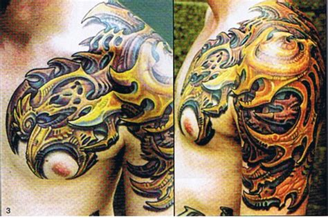 biomechanical chest tattoo designs biomechanical chest ideas and biomechanical chest