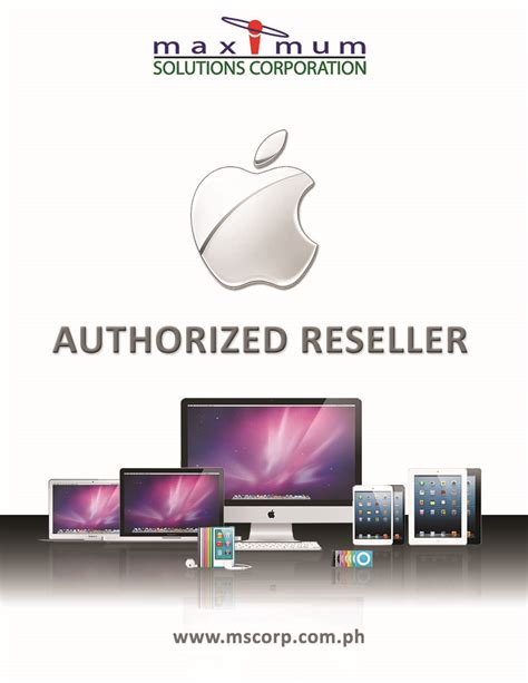 design flyer for mac maximum solutions corporation apple authorized reseller