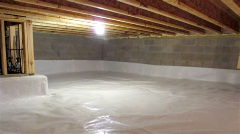 crawl space waterproofing the basics of keeping water out