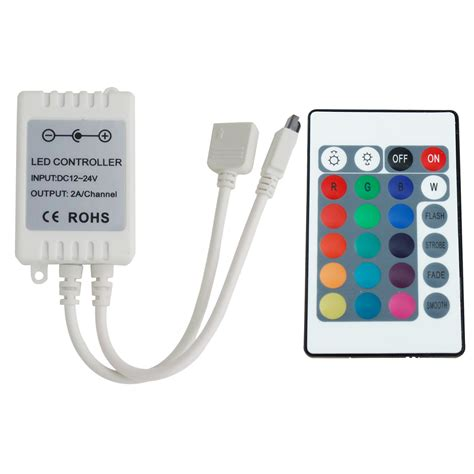 led lights remote 24 button rgb remote controller for led light 12v