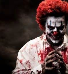 evil clown costume wallpaper
