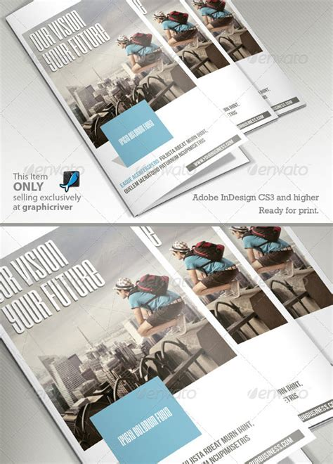 Adobe Indesign Tri Fold Brochure Template Bbapowers Info Adobe Indesign Brochure Templates Free