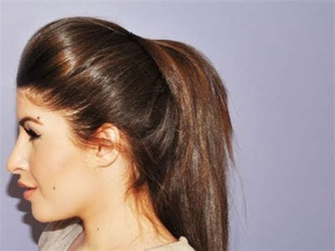 indian hairstyles demo how to make beautiful ponytail indian long hair girl