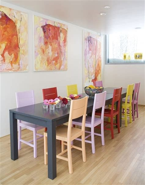 how to paint your dining room table and chairs diy and