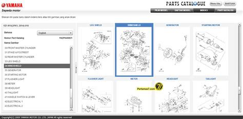 Sparepart Yamaha Mio 2006 parts catalogue yamaha yzf r15 indonesia sudah dibuka