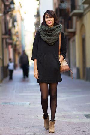 dark green zara scarves tawny zara boots black zara