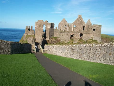When Was The First House Built by Dunluce Castle Irish Fireside Travel And Culture