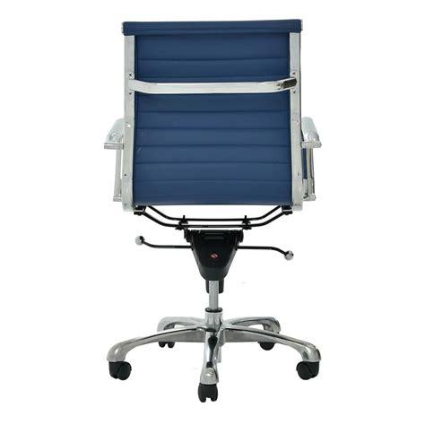 low back desk chair watson blue low back desk chair el dorado furniture