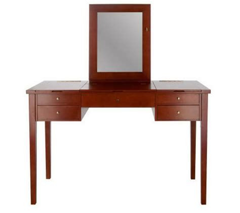 Jewelry Vanity Table Jewelry Cosmetic Organizer Vanity Table By Lori Greiner Page 1 Qvc