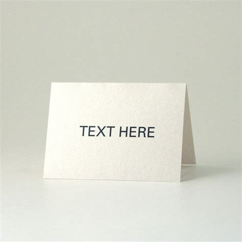 free template folded place cards size 5 x 2 25 2 5 x 3 5 folded 98lb cover aspire petallics beargrass