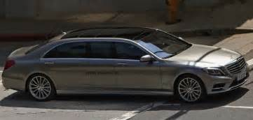 Mercedes S Class Pullman Mercedes S Class Pullman To Replace Dead Maybach In