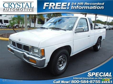nissan truck white 1995 cloud white nissan hardbody truck se v6 extended cab