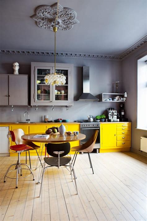 with color modern kitchens with color and character