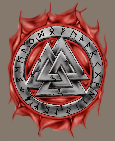 asatru tattoos odin s knot asatru vikings and