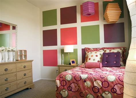 sophisticated teenage girl bedroom ideas color blocks enhance teen bedroom design sassy and