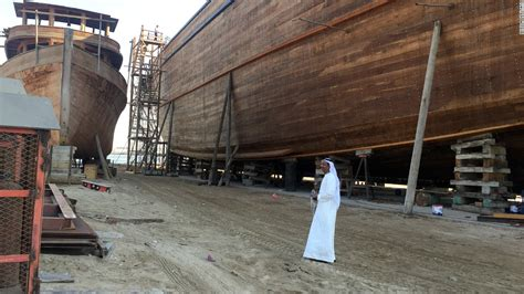 largest boat makers in the world world s biggest dhow to set sail from dubai cnn
