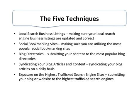 5 Useful Posts On Antb by 5 Techniques I Use To Get Free Seo For My And Social