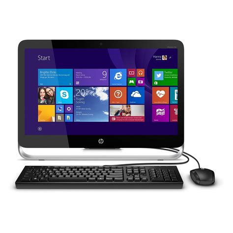 Hp All In One Pavilion 20 I5 4460t by Hp Pavilion 23 P202ng All In One Pc Bei Notebooksbilliger De